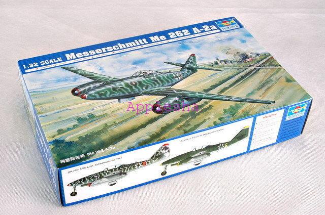 Trumpeter 02236 1 32 Messerschmitt Me262A-2a
