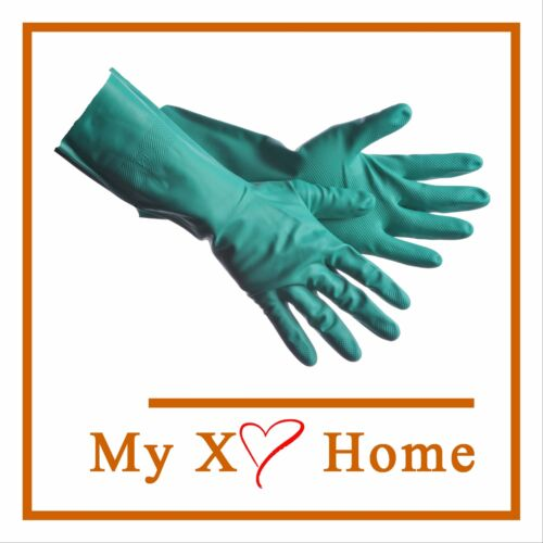 by MyXOHome Details about  /HD 11 Mil 48 Pairs Unlined Green Nitrile Gloves