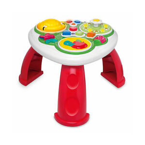 NEW-Chicco-Activity-Table-French-amp-English-Talking-Music-Learning
