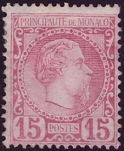 MONACO-1855-CARLO-III-n-5-SENZA-GOMMA-SORANI-510