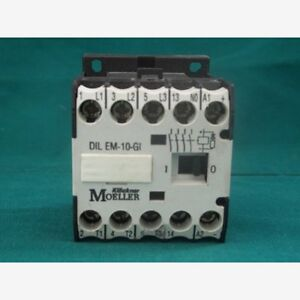 Klockner Moeller DIL EM-10 Contactor 600VAC 15A
