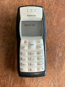 Original Nokia 1100 schwarz Basic Handy Entsperrt rh-18 Made in Germany #ol12