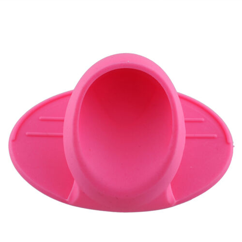 Wonderful Kitchen Dishes Silicone Oven Heat Insulated Finger Glove Protector、Fad