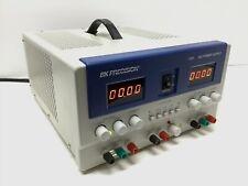 Bk Precision Model 1761 Triple Output Power Supply 0 35v 0 3a 25 65v 0 5a