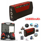 12V Portable 16800mAh Car Battery Jump Starter Power Bank Pack Booster Charger
