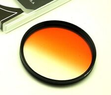58mm Graduated Orange Filter For Canon Nikon Sony Sigma DSLR SLR Lens