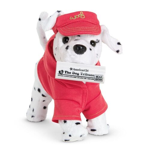 American Girl Doll Sporty Pet Doggie Newspaper and Hat NEW!