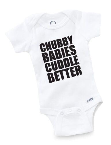 Chubby Babies Cuddle Onesie Baby Clothing Shower Gift Drum Geek Funny Cute Gift