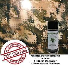Hydrographic Water Transfer Hydro Dip 6 Oz Activator Amp Army Camo 5 1m Film Kit