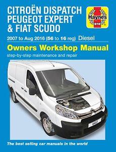 repair manual scudo