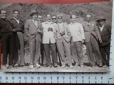 CARLOS ARIAS NAVARRO EN EL PICO DEL TEIDE 1952  FOTOGRAFÍA ORIGINAL DE ÉPOCA