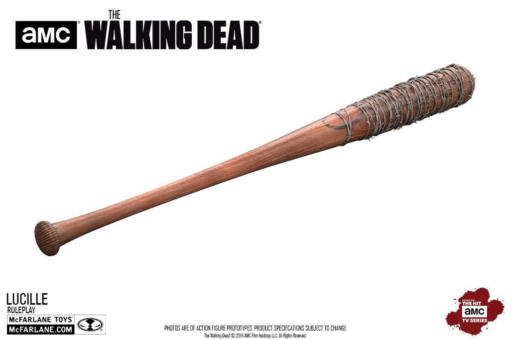 WALKING DEAD - Negan's 'Lucille' Baseball Bat 32  Replica (McFarlane)  NEW