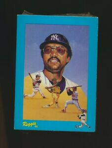 1984 RGI Renata Galasso Mini Reggie Jackson Puzzle Back Cards #1-30