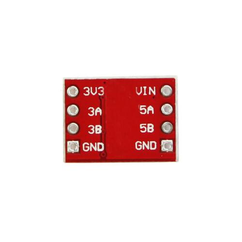 10PCS 2-CH I2C IIC Logique Niveau Convertisseur Module bi-directionnel pour Arduino 5V-3V