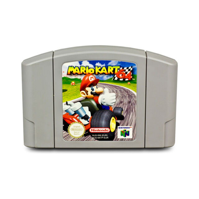 N64 Game Mario Kart 64 Racing Game for Nintendo 64 Module