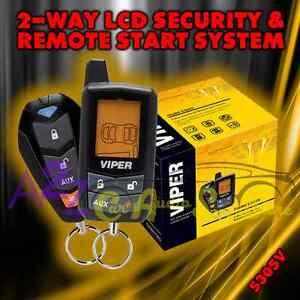 viper 5305v 2 way lcd vehicle car alarm keyless entry remote start system. Black Bedroom Furniture Sets. Home Design Ideas