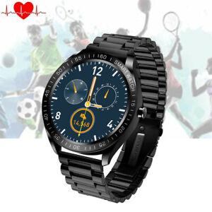 Touchscreen Smartwatch Pulsuhr Blutdruck Sportuhr für iOS Android Samsung Huawei