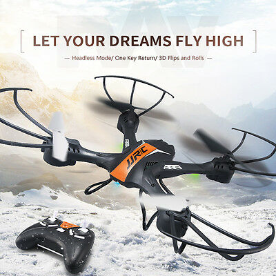 JJRC 2.4GHz 4CH 6-Axis Gyro RC Quadcopter Drone UFO FPV Helicopter UAV Headless