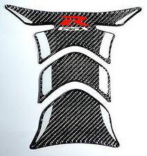 Suzuki GSX-R 750 GSXR 1000 600 Real Ultra shiny Carbon Fiber tank pad Protector