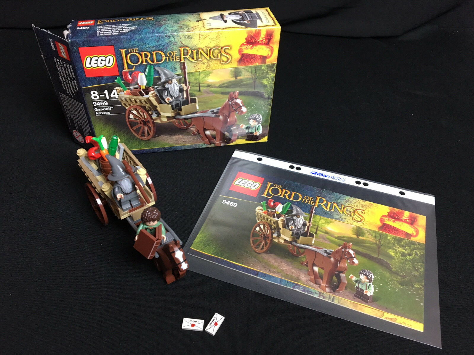 LEGO 9469 The Lord of the Rings l'arrivo di Gandalf Gandalf arrives complete