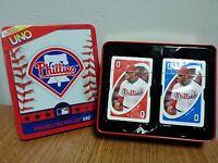Philadelphia Phillies Uno Card Game Fundex Tin