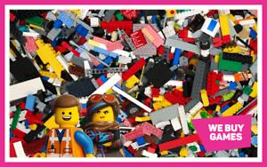 Lego-1-Kg-Bundle-700-Mixte-briques-Parties-et-PIECES-2-mini-figures