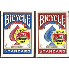 Carte Bicycle Mazzo Conico Stripper Deck Red - Prestigio e magia
