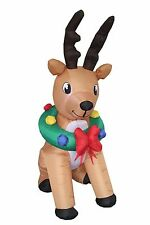 Christmas Inflatable Animated Reindeer Deer New Indoor Outdoor Garden Decoration