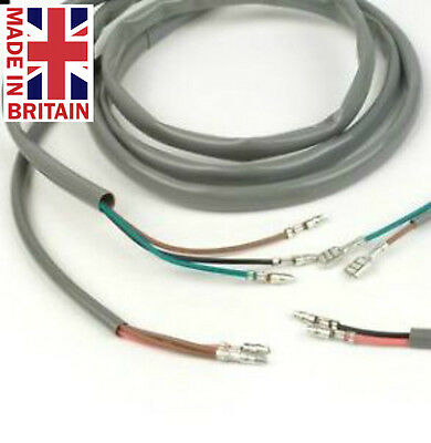 8mm grey pvc sleeving for restoration / repair / motorcycle harness wiring  25mtr 744750444379 | ebay  ebay