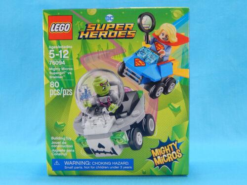 Brainiac 80pcs New Sealed 2018 DC Lego 76094 Mighty Micros Supergirl vs
