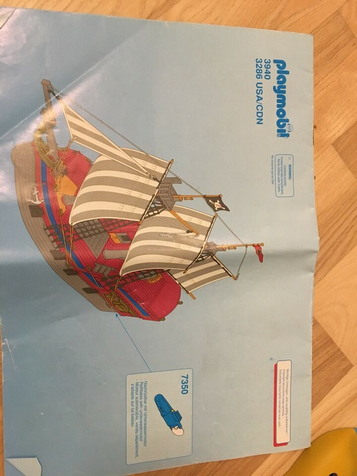Playmobil, Sørøverskib