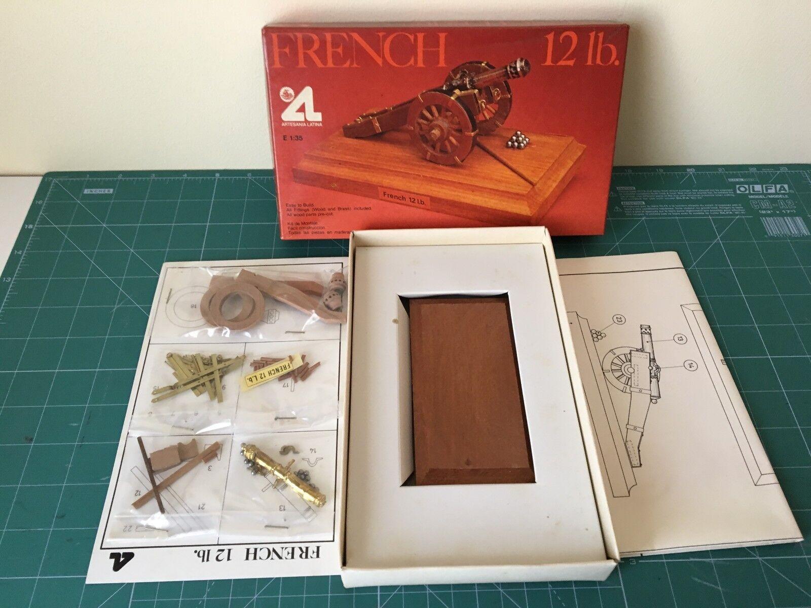 Artesania latina French 12 lb. scale 1 35 new in box see photo