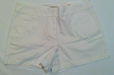 "NWT Women/'s Loft 6/"" Solid Cotton Shorts Size 00 4 6 8 10 12 14 16"