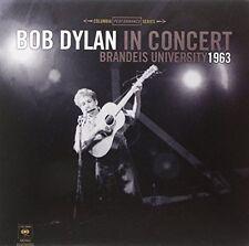 Bob Dylan in Concert: Brandeis University 1963 LP Concert tickets poster Folk