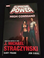 SUPREME POWER: HIGH COMMAND Trade Paperback