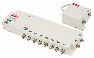 8-WAY-TV-AERIAL-SIGNAL-BOOSTER-DISTRIBUTION-AMPLIFIER-NEW-BUILT-IN-4G-FILTER