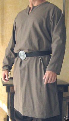 Medieval Celtic Viking Peasant Long Sleeves Shirt