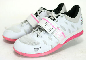 Training Shoes Size 9 White Pink Gray