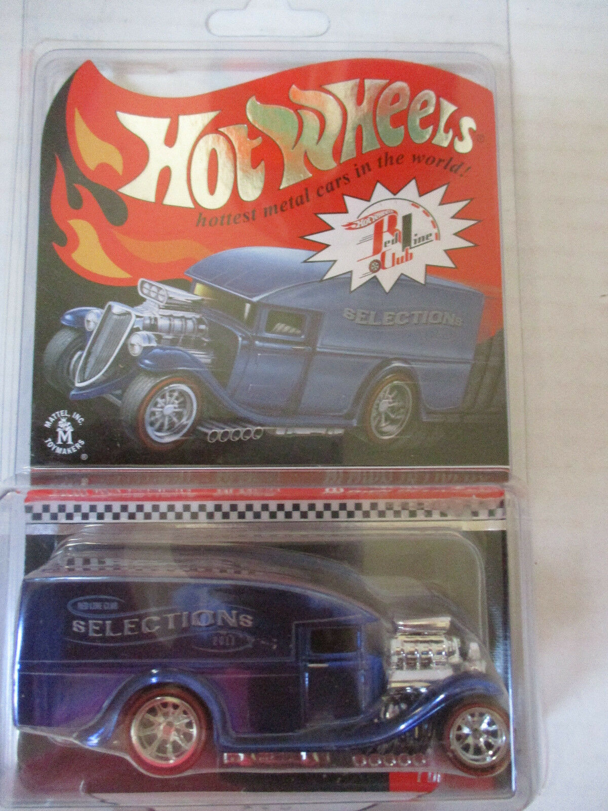 Hot Wheels rosso Line Club RLC Blown Delivery blu Selection  5405 9408
