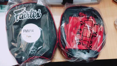GENUINE Fairtex NEW SHORT Focus Mitts Lightweight BEST MMA EQUIPMENT FMV14