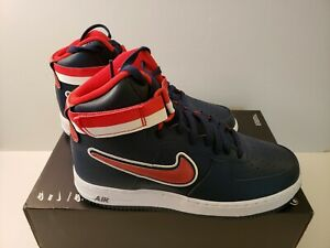newest 21977 1c8fc Nike Air Force 1 High '07 LV8 Sport Size 9 NBA Wizards Navy Blue ...