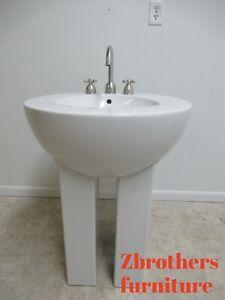 Details About Michael Graves Design Duravit Dornbracht Dreamscape Pedestal  Bathroom Sink