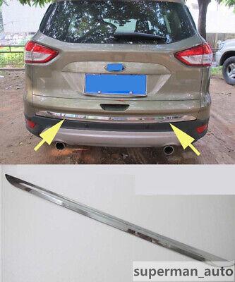 New Chrome Rear Light Cover Trim Eyelid For Ford Kuga Escape MK2 2013 2014 15 16