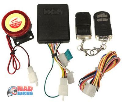 Avviamento del motore di controllo remoto del sistema di allarme universale per moto 12V da 125dB