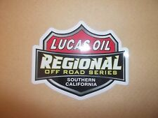 Lucas Olio OFF ROAD RACING 4x4 Adesivo Decalcomania Rally CASCO CORSE go cart Buggy