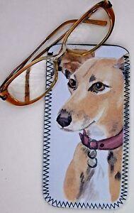 LURCHER-HOUND-DOG-NEOPRENE-GLASSES-CASE-POUCH-SANDRA-COEN-ARTIST-PRINT
