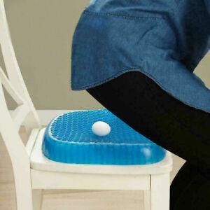 Cuscino Per Seduta Corretta.Cuscino In Gel Traspirante Antidecubito Per Seduta Corretta Sedia