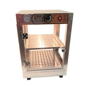Commercial Food Warmer Pizza Pastry Hot Countertop Display