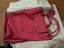 Brand New Longchamp Le Pliage Neo Medium Pink Crossbody Tote Bag