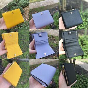 NWT-Tory-Burch-Emerson-Saffiano-Leather-Mini-Wallet-Imperial-Multi